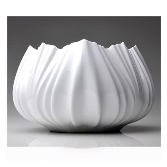 Vaso Coral Neve Branco P