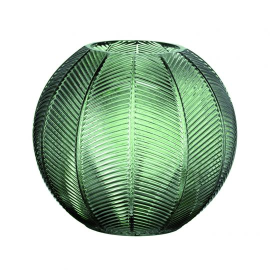 Vaso Verde em Vidro M