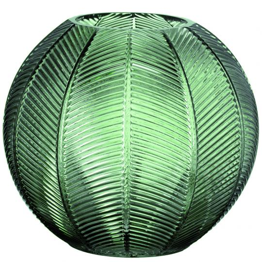 Vaso Verde em Vidro G