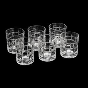 Conjunto 6 Copos Para Whisky Timesquare Cristal