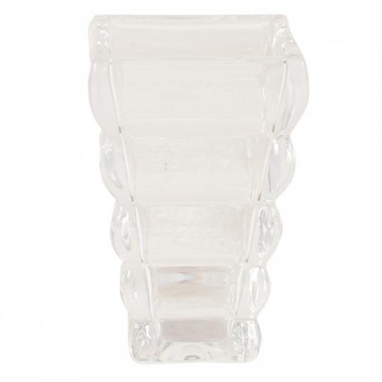Vaso de Vidro Ondulado