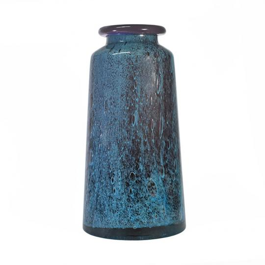 Vaso Azul e Roxo Cobalt G