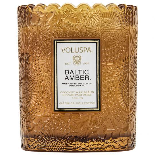 Vela Copo Trabahado 45 Horas Relevo Baltic Amber