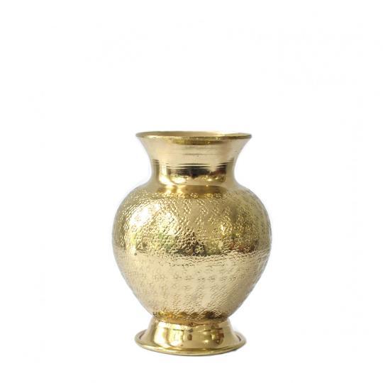 Mini Vasinho de Metal Dourado