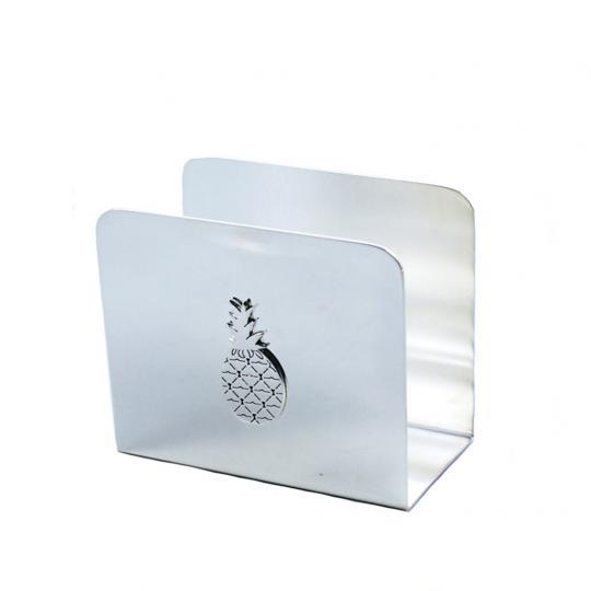 Porta Guardanapo de Inox Pineapple