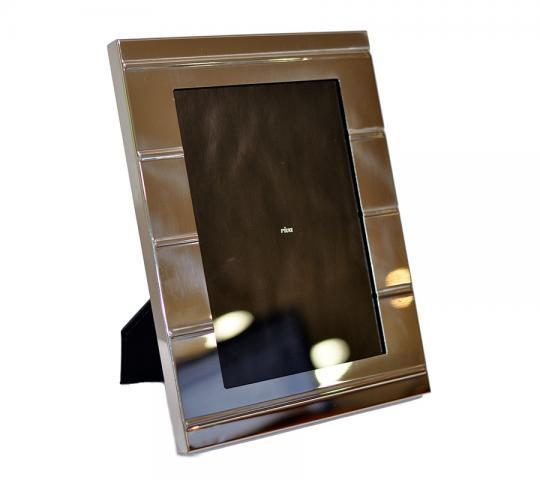 Porta Retrato Inox Carrara Friso
