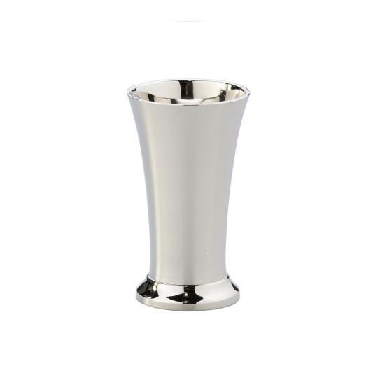 Vaso Mini de Ferro Niquelado Alto