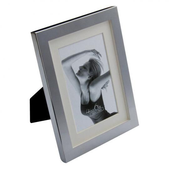 Porta Retrato com Moldura Branca PP