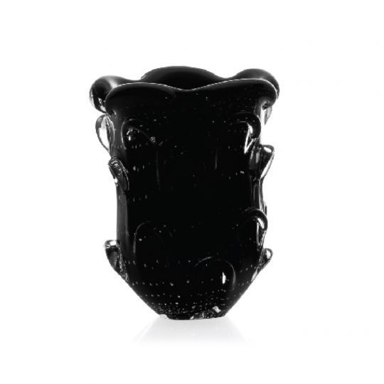 Vaso de Cristal Mini Preto