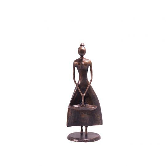 Escultura Donzela