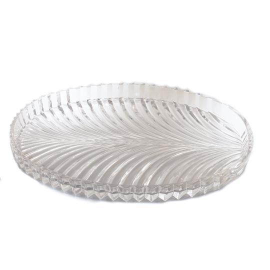 Prato Decorativo de Vidro
