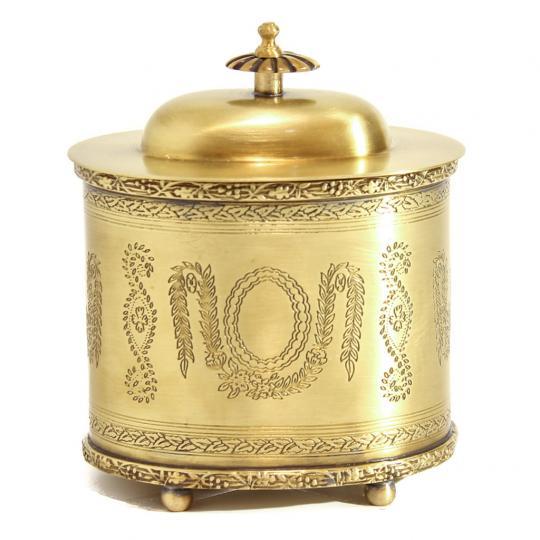 Caixa Realeza na cor Bronze