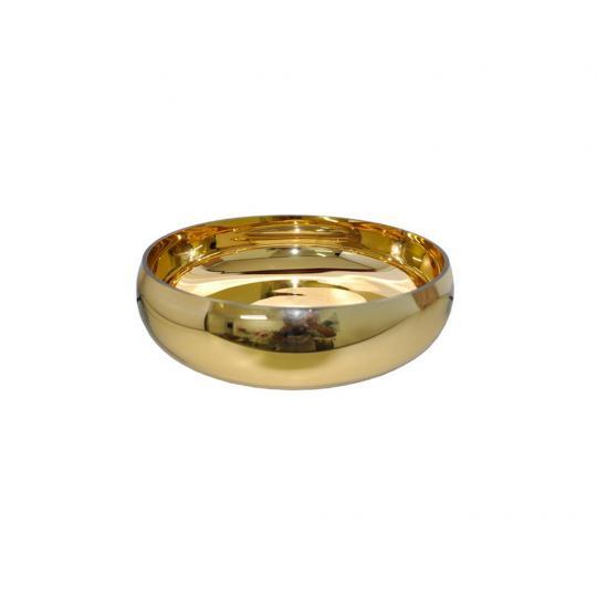 Vaso de Vidro Dourado P