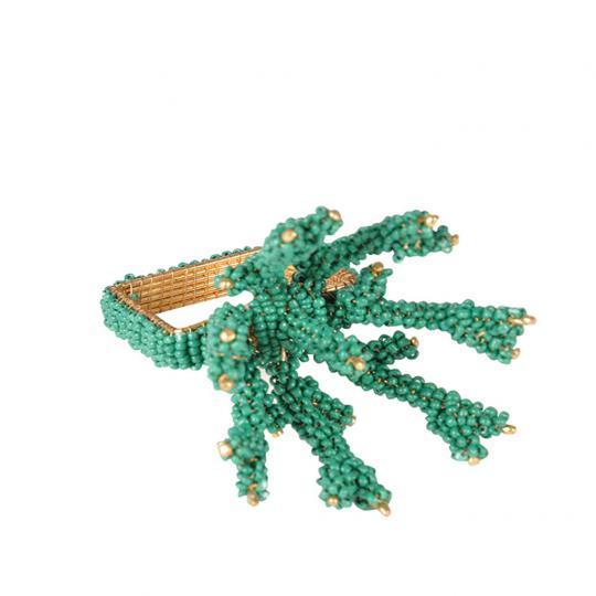Jogo com 04 Porta Guardanapos Coral Verde