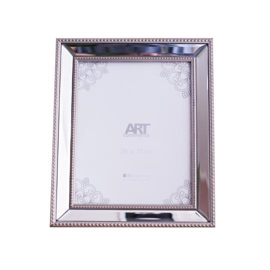 Porta Retrato Decorativo Bisotado Champanhe