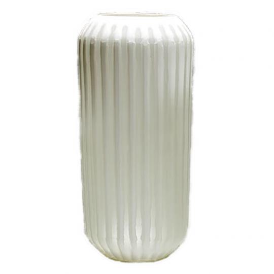 Vaso de Vidro Tabla White Longo