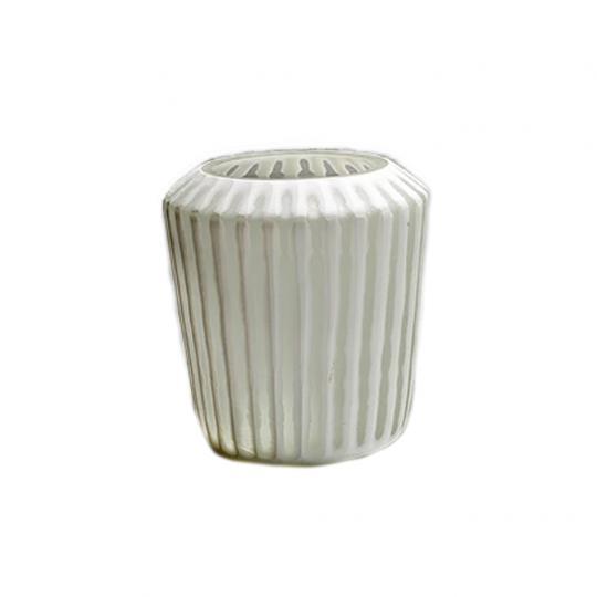 Vaso de Vidro Tabla White Pequeno
