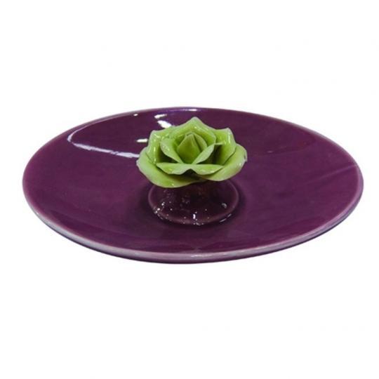 Prato Decorativo Rosa