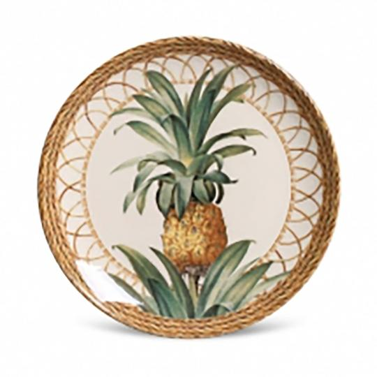 Jogo com 06 Pratos de Sobremesa Coup Pineapple Natural 1O Classific