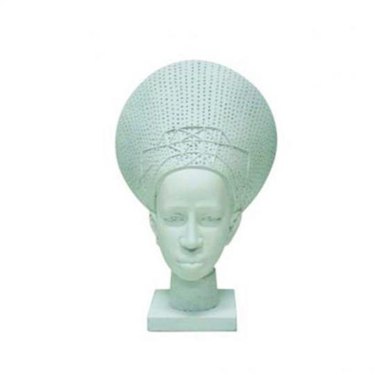 Cabeça Africana de Resina