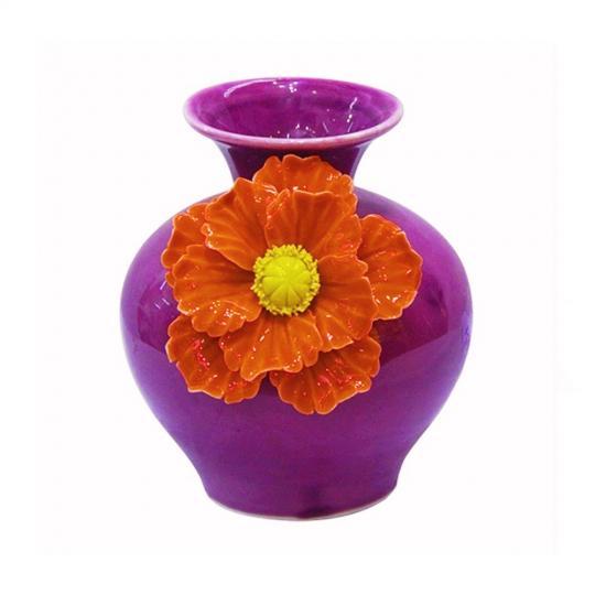 Vaso Decorativo com Flor
